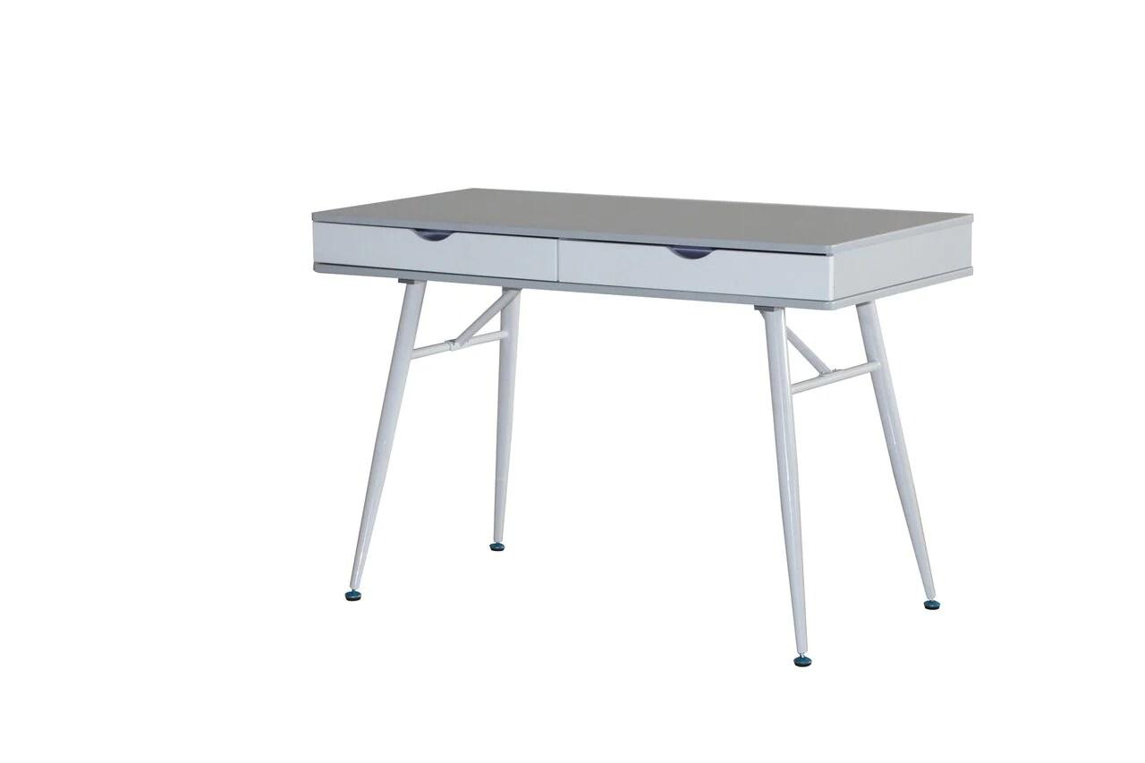 Marvelous Desk Steel Legs Desk Steel Legs Mid Century Desk Plans Mid Century Desk Ikea houzz-03 Mid Century Desk