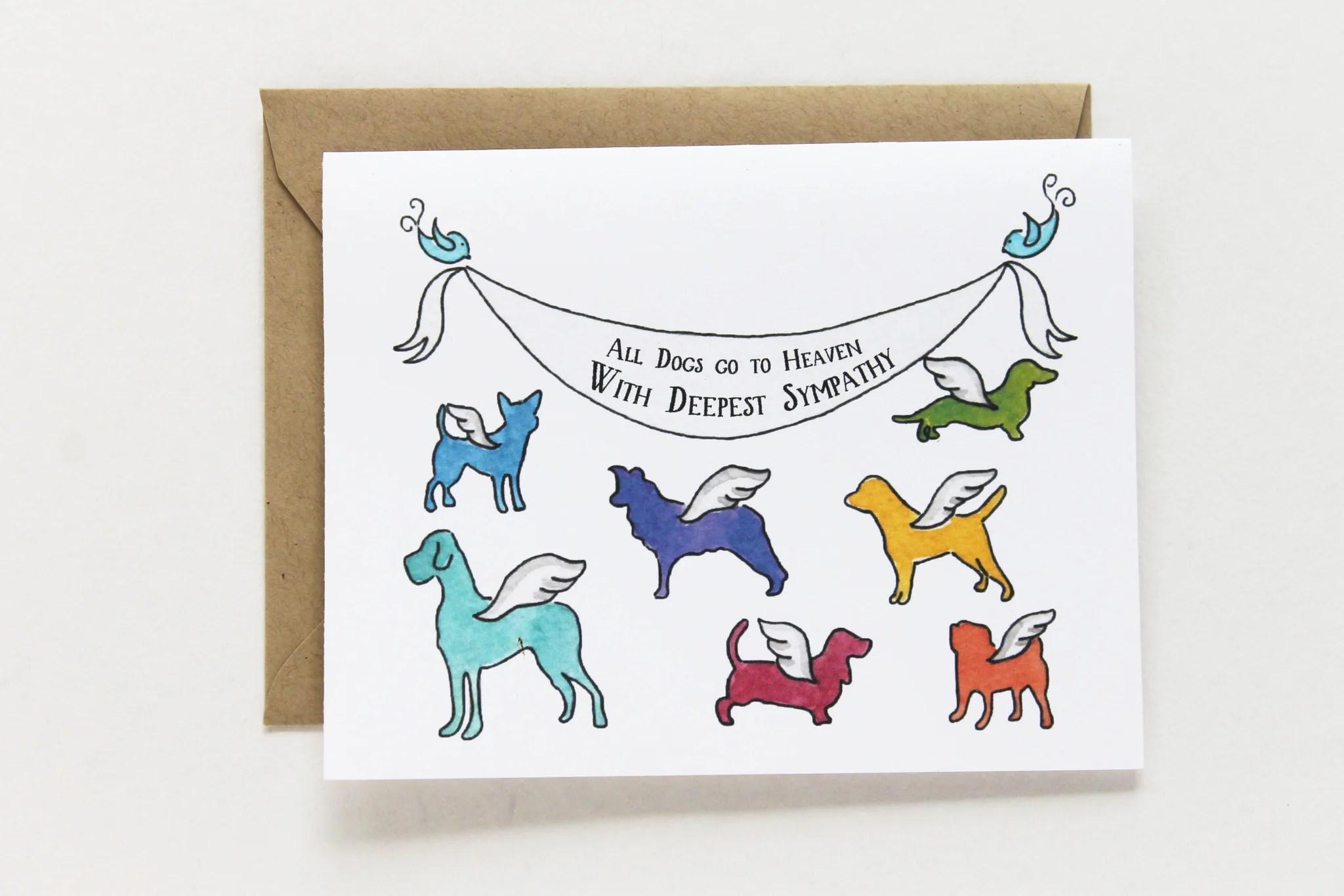 Fullsize Of Pet Sympathy Cards