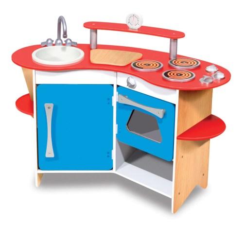 Medium Of Wooden Play Kitchen