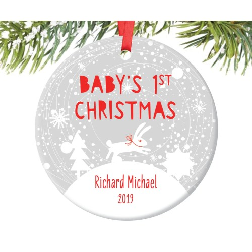 Medium Crop Of Baby First Christmas Ornament