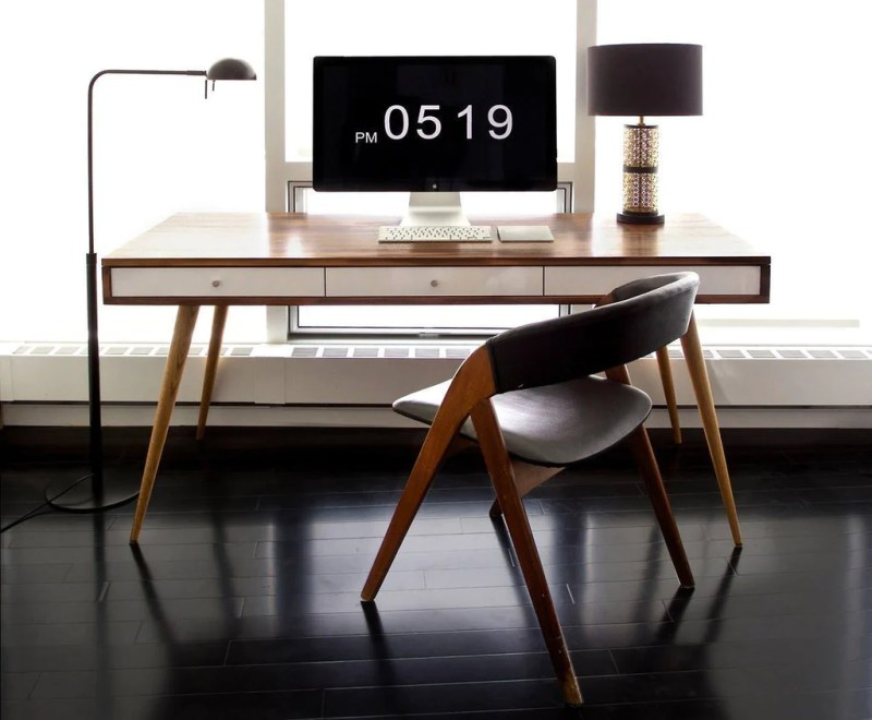 Large Of Mid Century Modern Desk