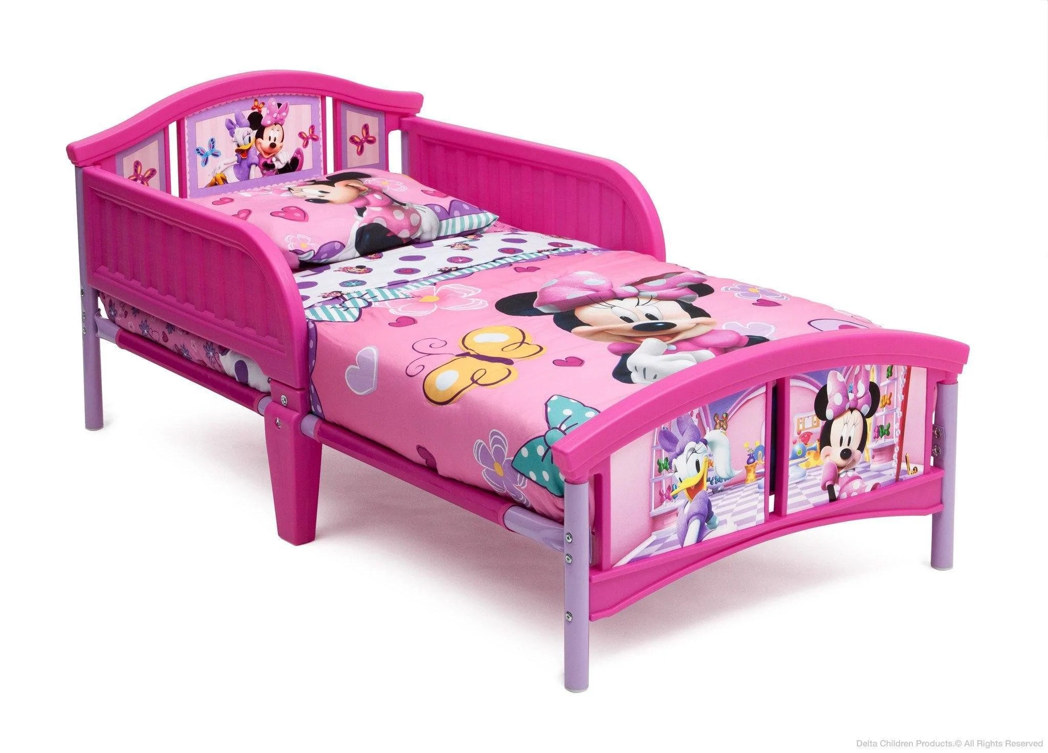 Tremendous Delta Children Disney Minnie Mouse Plastic Toddler Bed Right Side View Minnie Mouse Plastic Toddler Bed Delta Children Toddler Bed Sheets Kmart Toddler Bed Sheets 160 X 70 baby Toddler Bed Sheets
