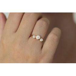 Small Crop Of Half Carat Diamond
