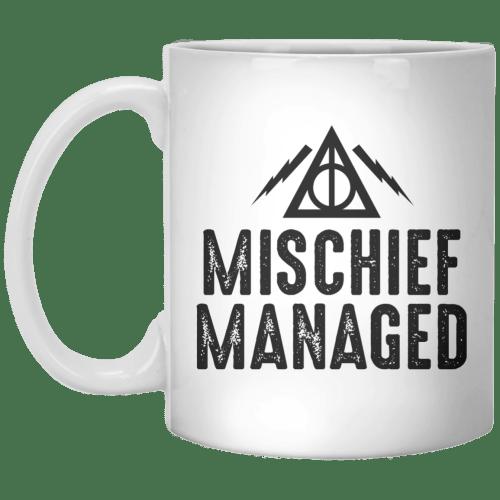 Medium Of Mischief Managed Mug