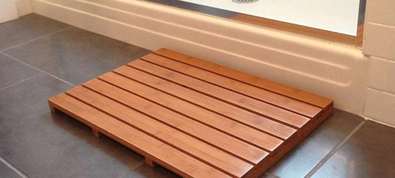 Large Of Bamboo Bath Mat
