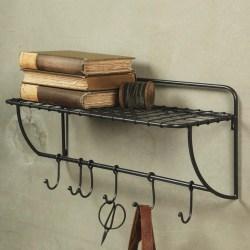 Small Of Metal Wall Shelf