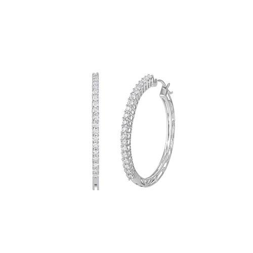 Sunshiny G Arya Esha Diamond Hoop Earrings Guys Diamond Hoop Earrings Mens Daytime Diamond Hoop