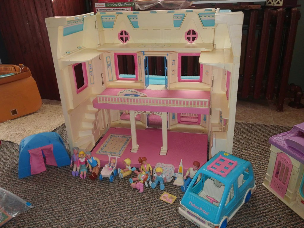 Fullsize Of Fisher Price Dollhouse