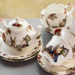 Chic Alice Alice Crazy Daisy Tea Cups Crazy Cups Tea Sampler Wonderland Mad Hatters Tea Party Bone China Tea Set Wonderland Mad Hatters Tea Party Bone China Tea Set