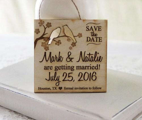Medium Of Magnet Save The Dates