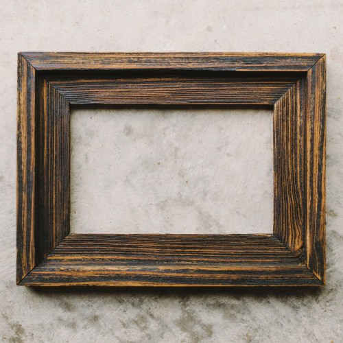 Medium Of Wooden Picture Frames