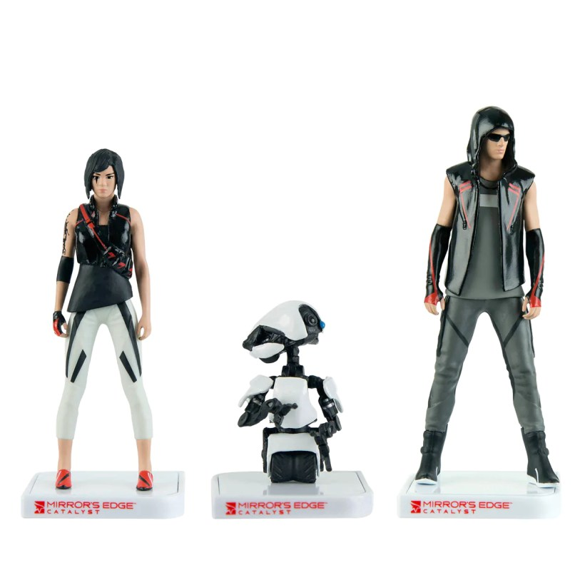 Mirror's Edge™ Mini Figure – Three Pack from Performance Designed Products