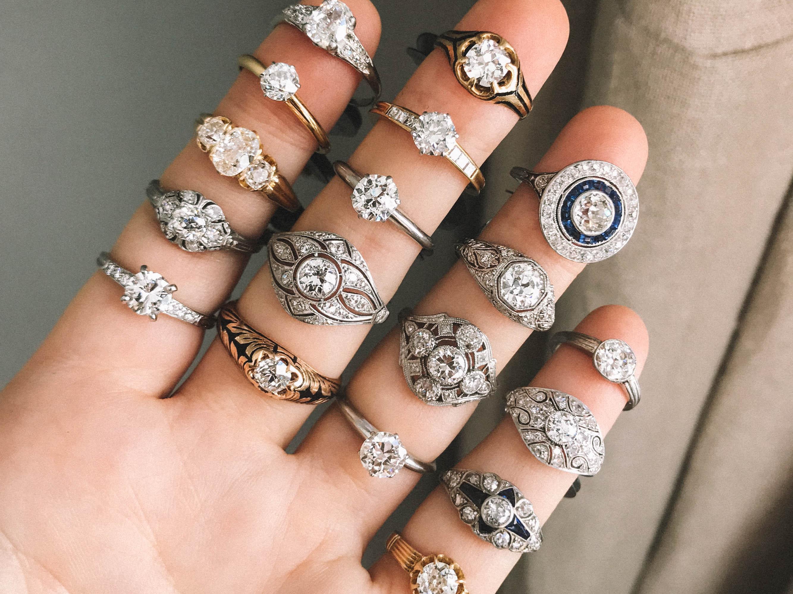Lovely Under Carat Vintage Engagement Rings Under Carat Vintage Engagement Rings Erstwhile Jewelry 1 Carat Diamond Rings Cheap 1 Carat Diamond Ring G wedding rings 1 Karat Diamond Ring