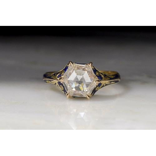 Medium Crop Of Rose Cut Diamond