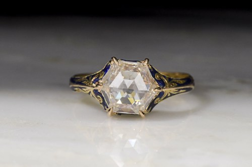 Medium Of Rose Cut Diamond