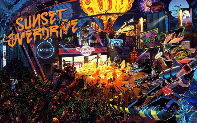 Poster do filme Sunset Overdrive - O Filme