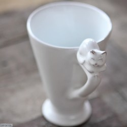 Small Of Handmade Cat Mug