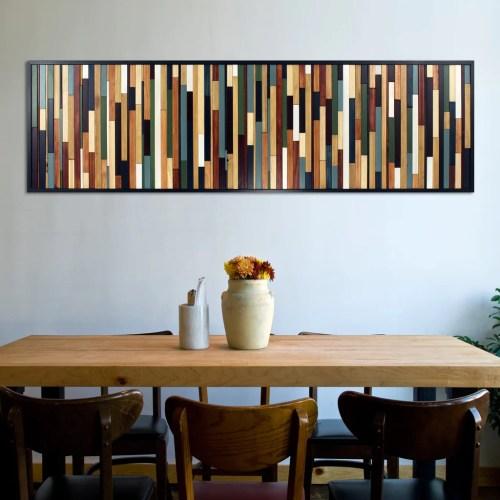 Medium Of Reclaimed Wood Wall Art