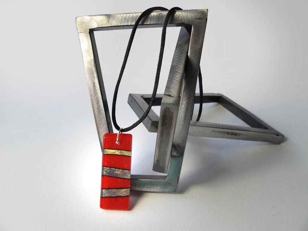 Glass art pendants gt red alchemy how to make santa on little alchemy