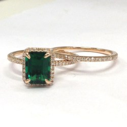 Small Crop Of Emerald Engagement Rings