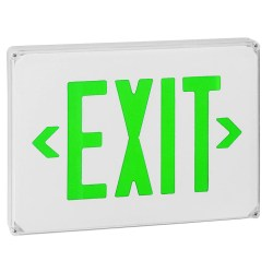 Mind Green Lettering Volt Exit Sign Green Lettering Volt Exit Sign Royal Pacific Lighting Pte Ltd Royal Pacific Lighting 8961