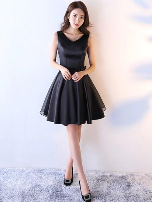 Medium Of Black Homecoming Dresses