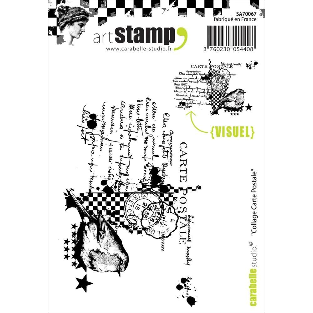 Sparkling Carabelle Studio Cling Stamp Card Carabelle Studio Cling Stamp Card Dreamz Etc Post Card Stamp Cost Postcard Stamps Cost inspiration Post Card Stamp