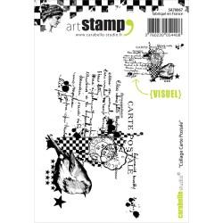 Sparkling Carabelle Studio Cling Stamp Card Carabelle Studio Cling Stamp Card Dreamz Etc Post Card Stamp Cost Postcard Stamps Cost
