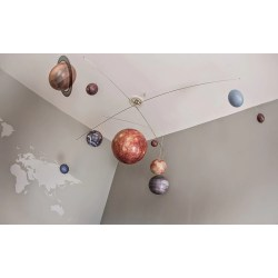 Small Crop Of Solar System Mobile
