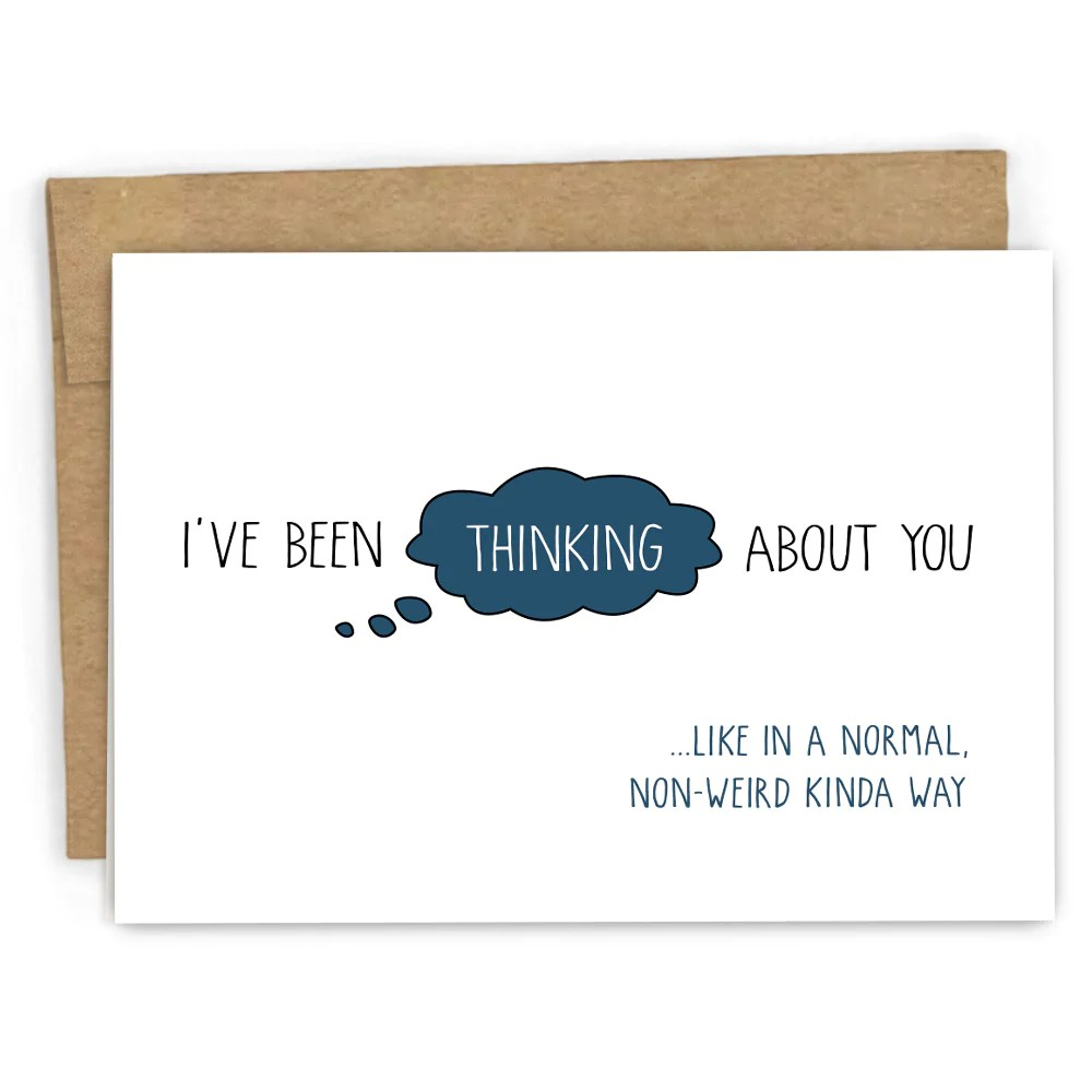 Fullsize Of Thinking Of You Cards