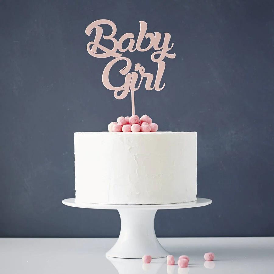 Fullsize Of Girl Baby Shower Cakes