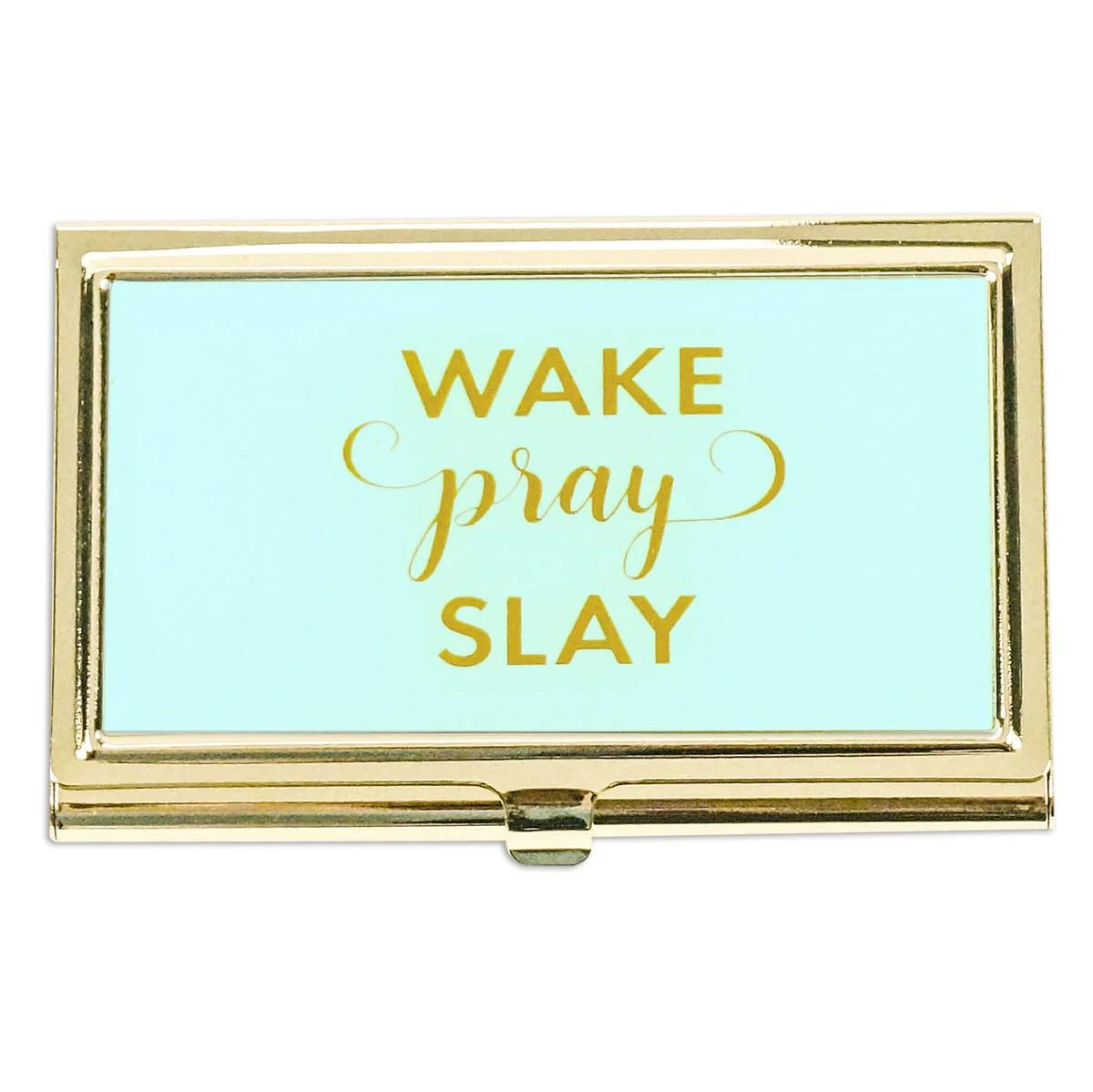 Impressive Business Card Her Wake Pray Slay Business Card Her Wake Pray Slay Mary Square Wake Pray Slay Planner Wake Pray Slay T Shirts inspiration Wake Pray Slay