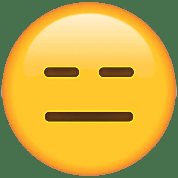 Image result for expressionless face emoji