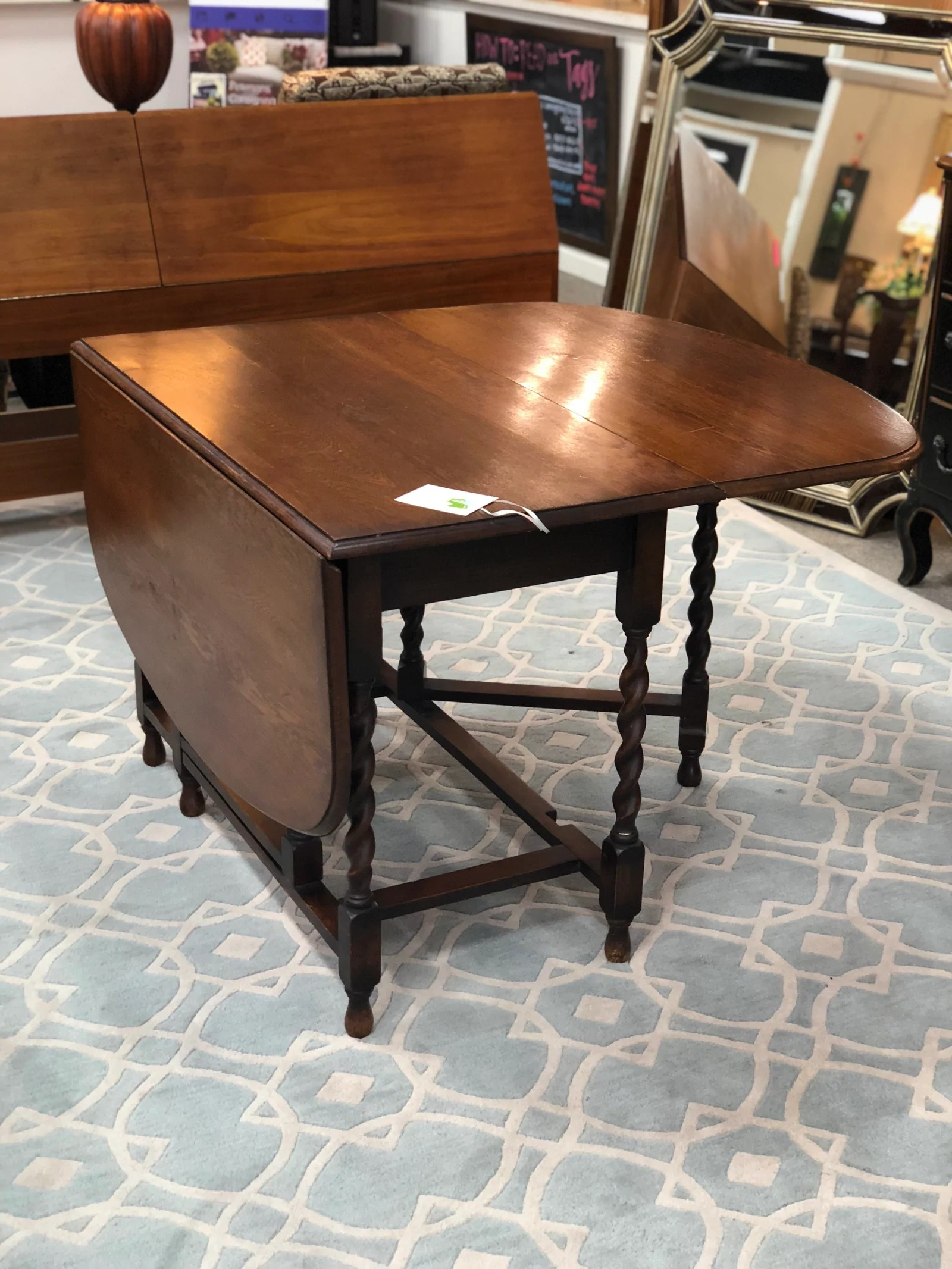 Fullsize Of Antique Drop Leaf Table