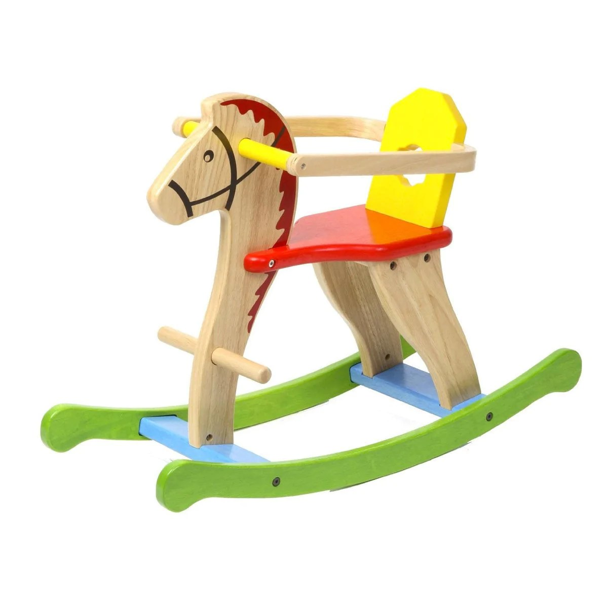 Fullsize Of Wooden Rocking Horse