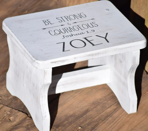 Medium Of Step Stool For Kids
