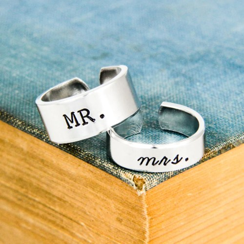 Medium Crop Of Couples Promise Rings
