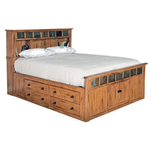 Medium Of Platform Bed King