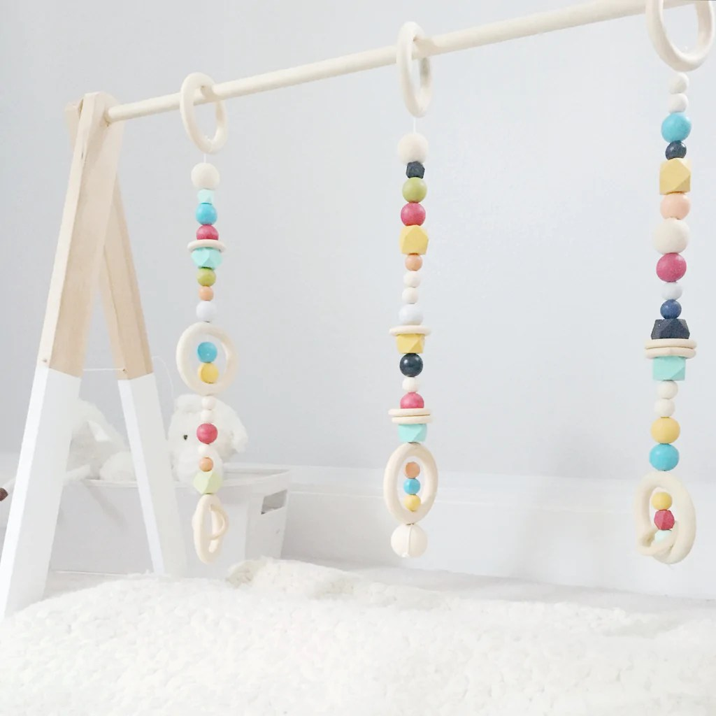 Innovative Signature Scandi Wooden Play Gym Signature Scandi Wooden Play Gym Spebarn Sprout Baby Play Gym Age Range Baby Play Gym Wooden baby Baby Play Gym