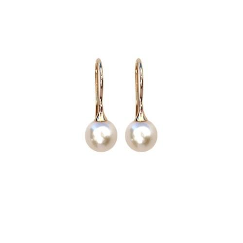 Medium Crop Of Pearl Drop Earrings