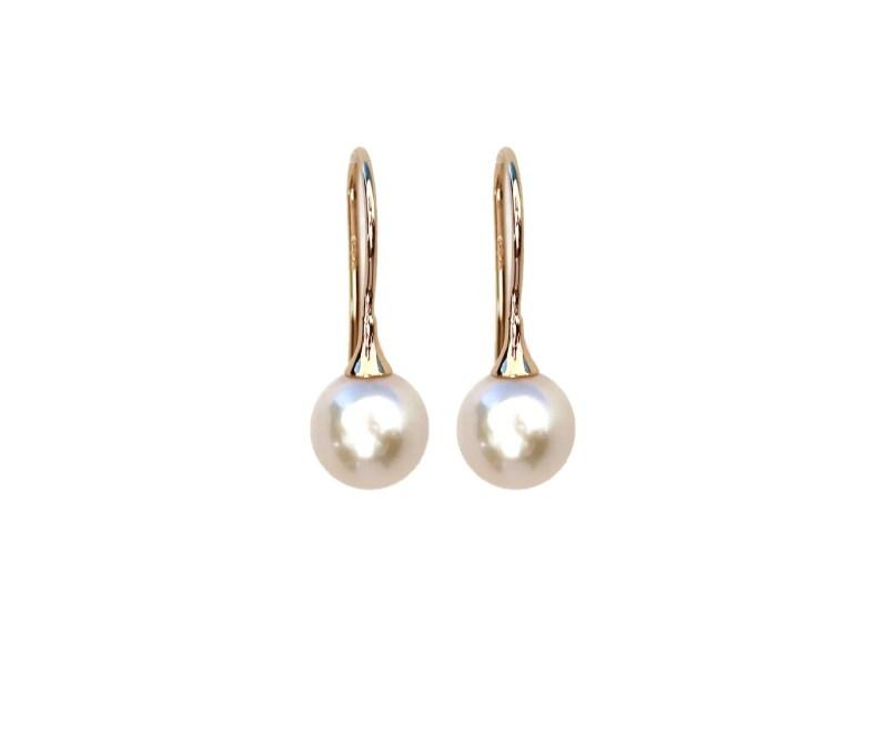 Large Of Pearl Drop Earrings