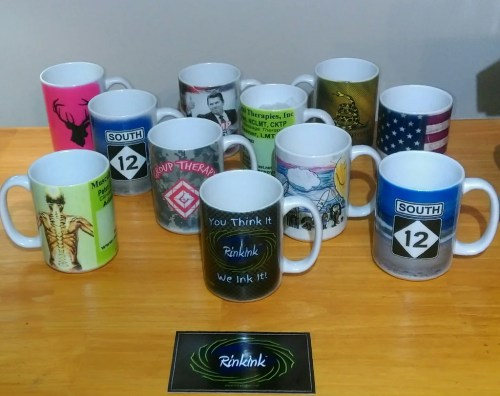 Diverting Custom Mug Your Own Full Color Rinkink Custom Mug Featuring Your Own Full Color Image Color Your Own Coffee Mug
