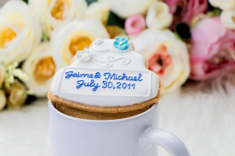 Large Of Wedding Cake Cookies