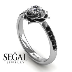 Small Crop Of Black Diamond Engagement Rings