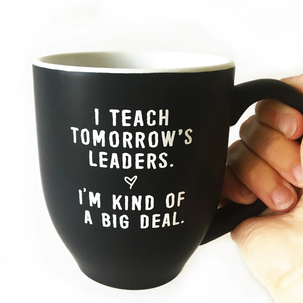 Flossy Leaders Teacher Mug Bored Teachers Ceramic Coffee Mug Bored Teachers Big Coffee Mug Blue Big Coffee Mugs Sale furniture Big Coffee Mug