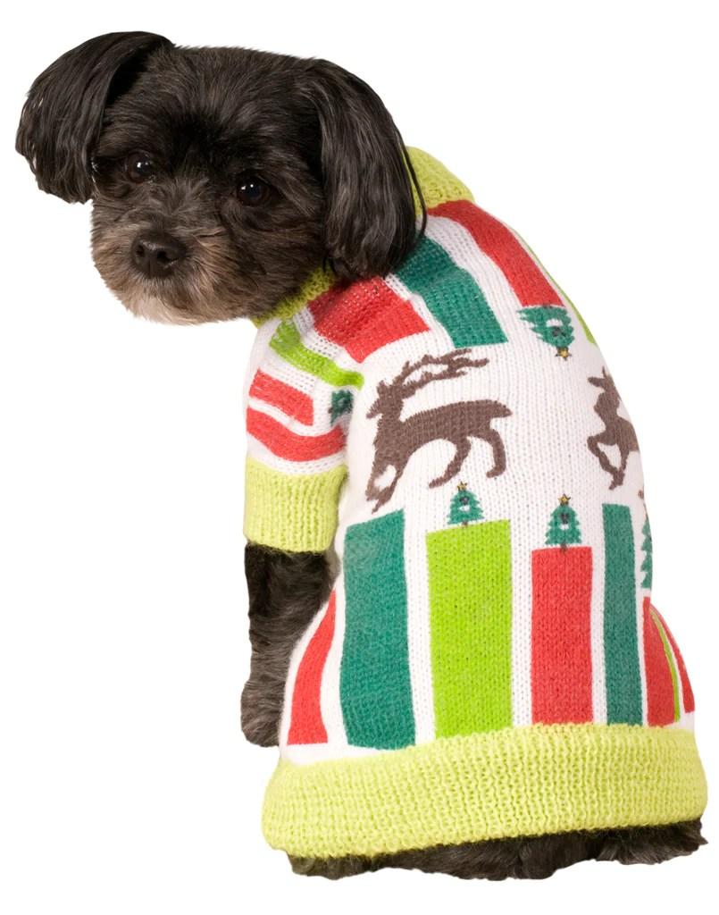 Multipurpose Lights Dog Reindeer Dog Reindeer Sweater Dog Reindeer Sweater Costume Zoo Dog Sweater Dragons Den Dog Sweater bark post Dog Christmas Sweater