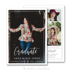 Riveting Clean Senior Graduation Announcement Template Clean Senior Graduation Announcement Template Little Muse Graduation Announcement Template Download Graduation Announcement Templates Costco