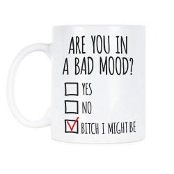 Modish A Bad Mood Mug Office Space Coffee Front Office Space Coffee Mug M Office Space Mug Initech Initech Office Space Coffee Mugs Office Space Coffee Office Coffee Are You