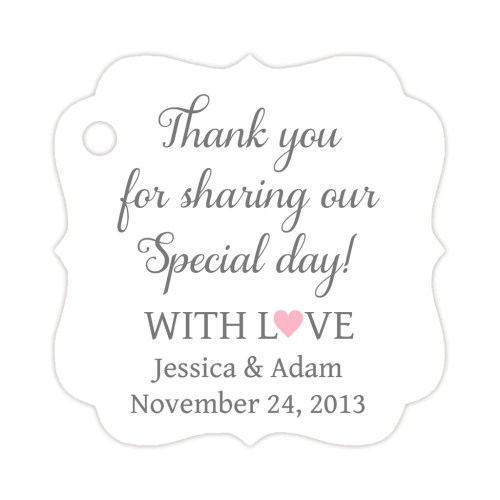 Medium Of Thank You Tags