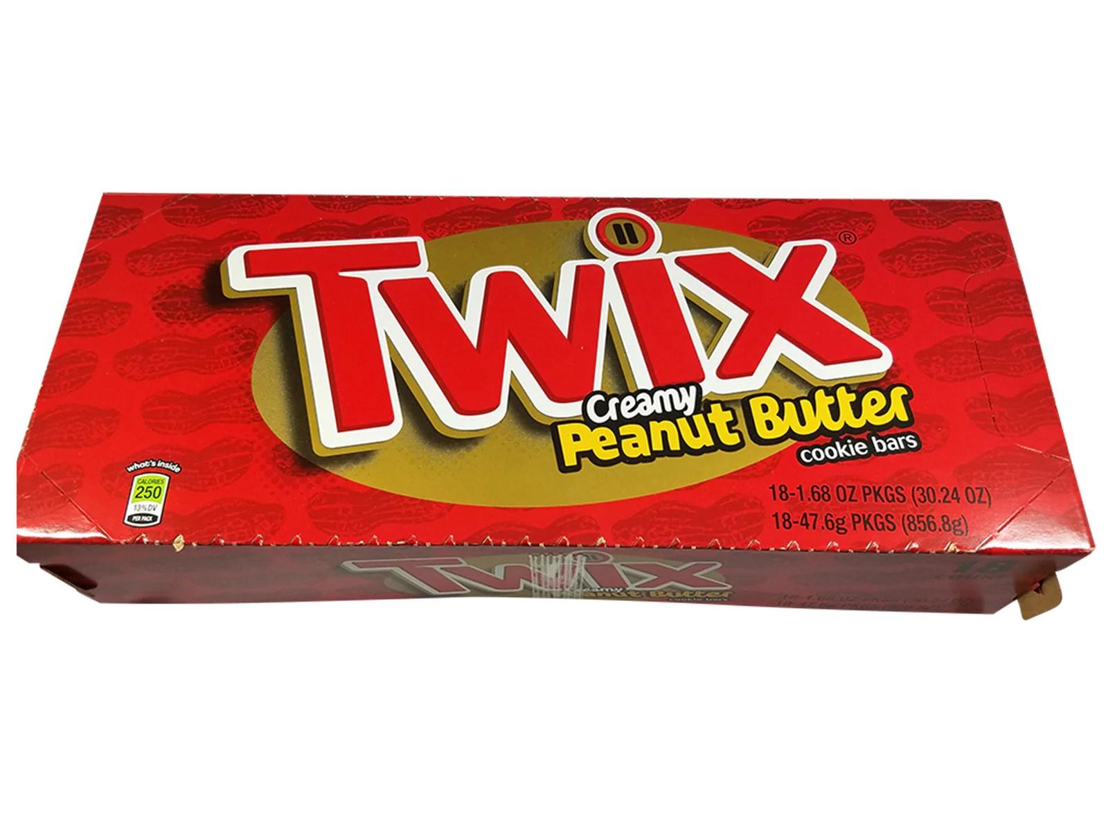 Distinctive Mrcandyshop Twix Creamy Peanut Butter Cookie Bars Singles Size Bar Peanut Butter Twix Uk Peanut Butter Twix Nutrition Facts nice food Peanut Butter Twix
